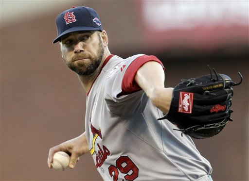 Chris Carpenter has proven himself as one of baseball's best big-game pitchers in recent years. (AP)