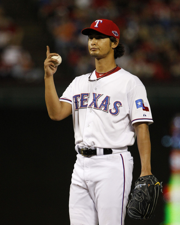 The Rangers gave Yu Darvish a six-year, $60 million deal. (AP)
