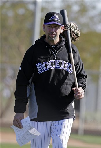 Walt Weiss was given a one-year contract to manage the Rockies. (AP)