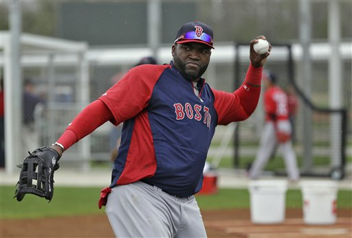 David Ortiz will be paid $26 million over the next two seasons in Boston. (AP)
