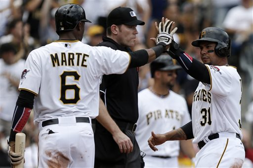 The Pirates have had plenty of reason to celebrate of late. (AP)