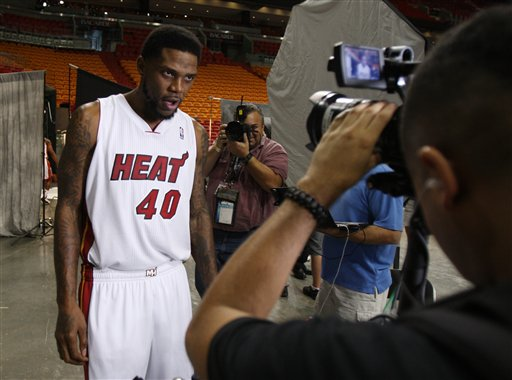 Miami Heat Media Day Basketball