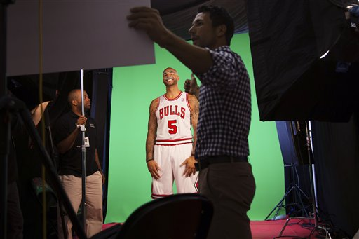 Bulls Media Day Basketball