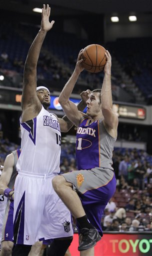 Goran Dragic returned to the Suns as a free agent and will be their starting point guard. (AP)