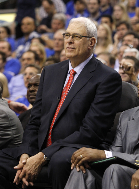 Phil Jackson hasn't coached since the Lakers lost to the Mavs in the 2011 playoffs. (AP)