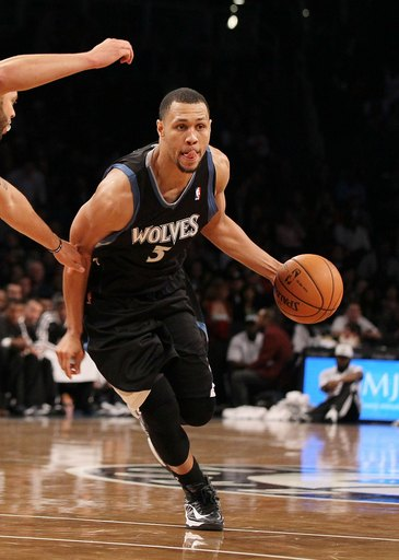 Brandon Roy has played in just five games for the T'wolves this season. (Getty Images)