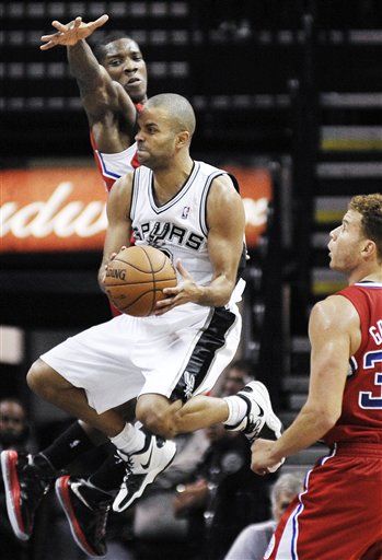 Clippers Spurs Basketball