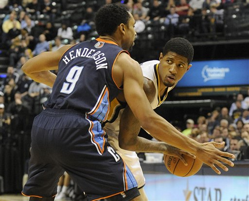 Bobcats Pacers Basketball