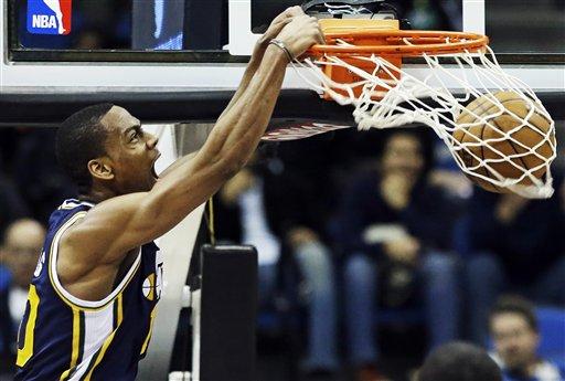 Jazz Timberwolves Basketball