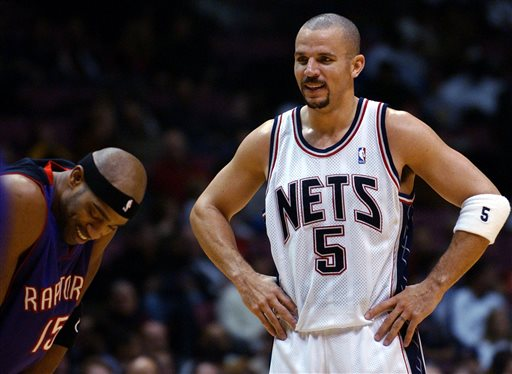 Jason Kidd is returning to the Nets after playing for them from 2001-08. (AP)