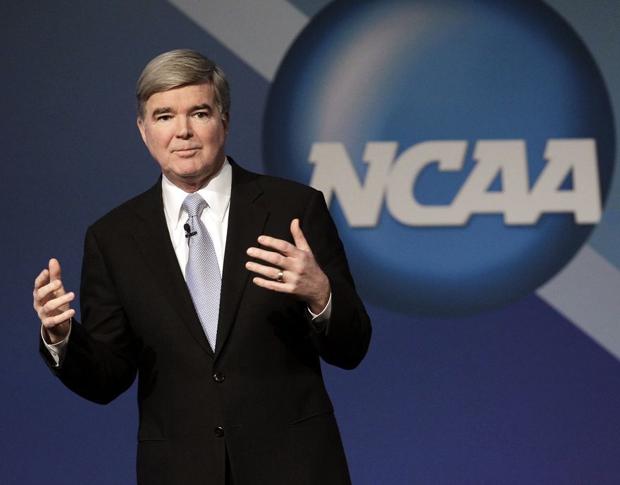 Under president Mark Emmert, the NCAA will hand down suspensions for coaches who violate rules. (AP)