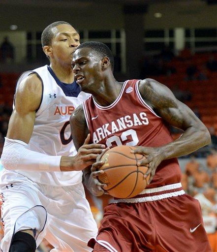 Arkansas Auburn Basketball