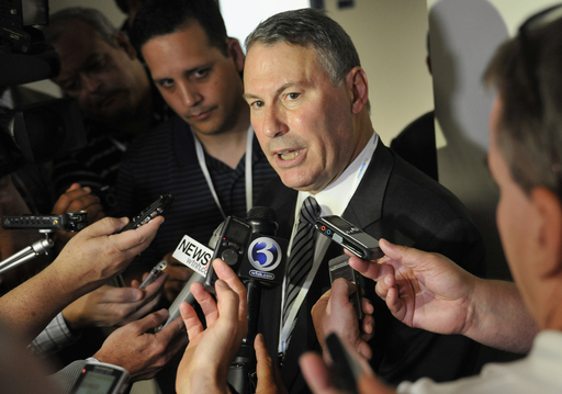 American Athletic Conference commissioner Mike Aresco has a lot of work ahead of him. (AP)