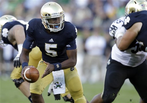 Notre Dame Golson Football