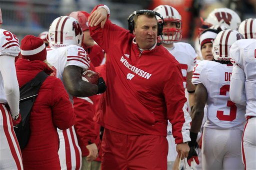 Bret Bielema had been head coach at Wisconsin since 2006. (AP)