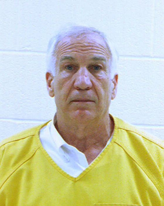 Jerry Sandusky was convicted of sexually assaulting 10 boys during a 15-year span. (AP Photo)