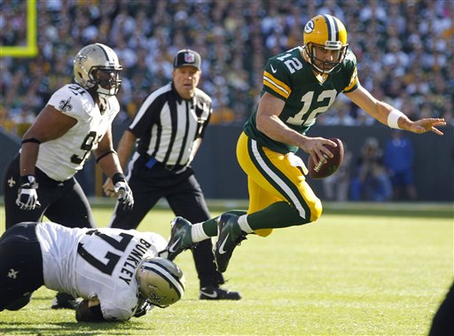 Saints Packers Football