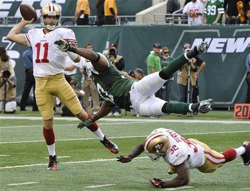 APTOPIX 49ers Jets Football