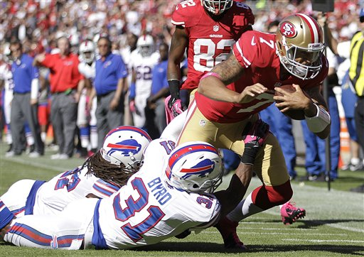 Bills 49ers Football