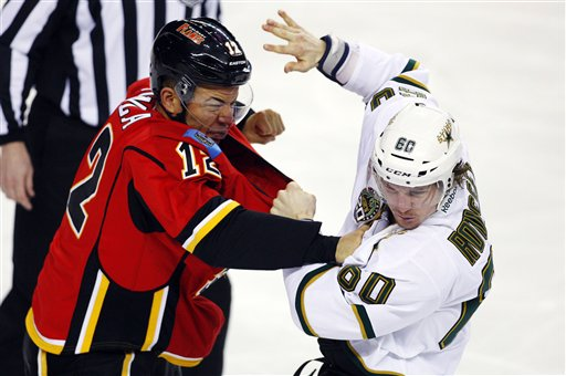 Stars Flames Hockey