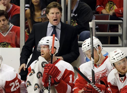 Wings coach Mike Babcock doesn't suffer fools gladly. (AP Photo)