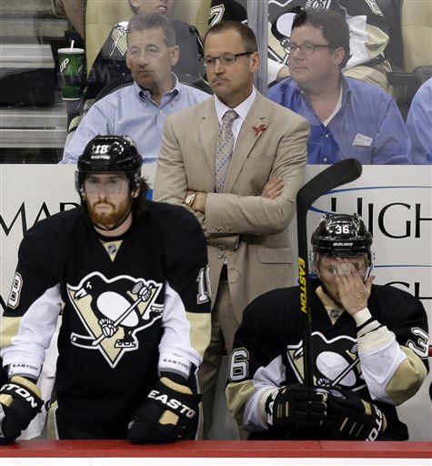 The Penguins need to stick to their game plan whether they're ahead or trailing. (AP)