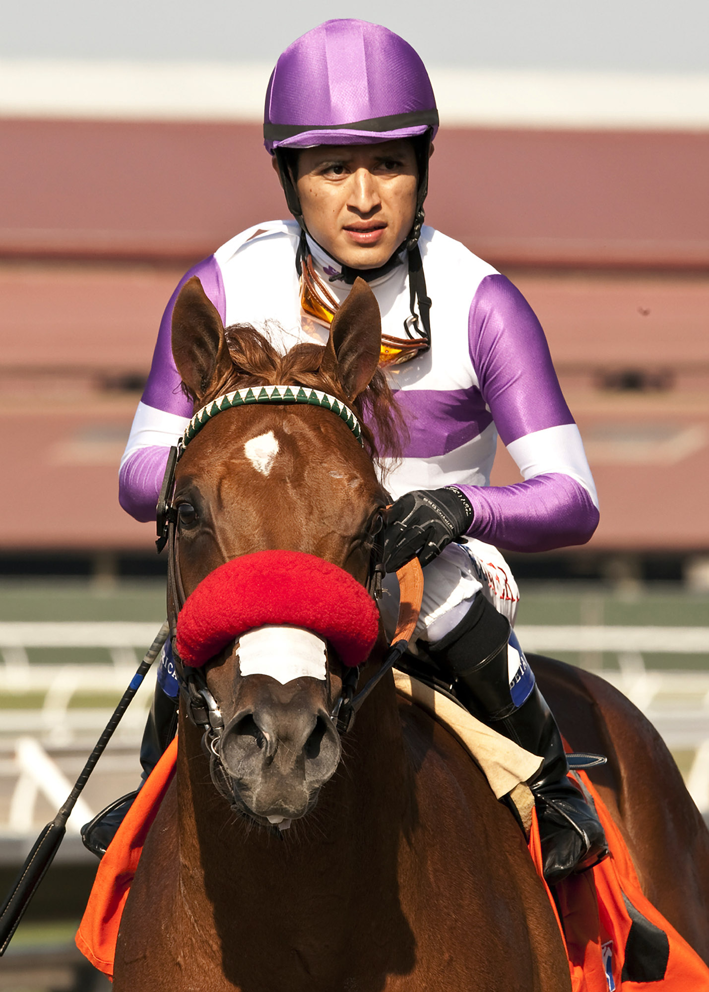 Reddam Racing's Wake Up Nick and jockey Mario Gutierrez win the $100,000 Graduation Stakes Wednesday, July 30, 2014 at Del Mar Thoroughbred Club, in Del Mar, Calif