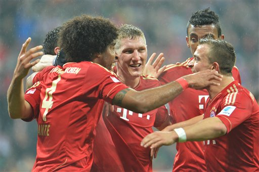 Bayern Munich has dominated the Bundesliga this season. (Associated Press)