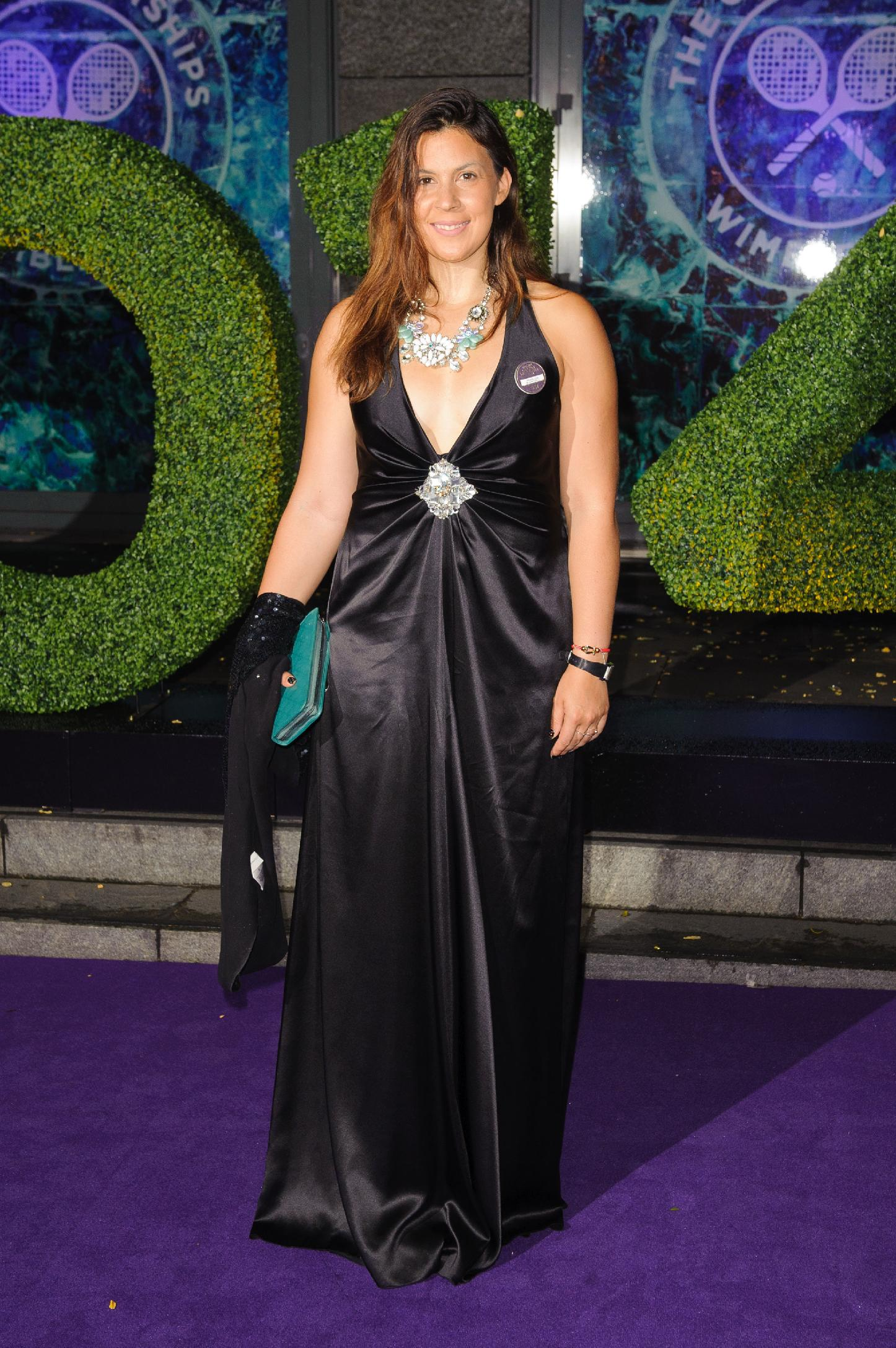 Marion Bartoli arriving at the Wimbledon Champions Dinner 2014, at the Royal Opera House, in Covent Garden, London, Sunday July 6, 2014