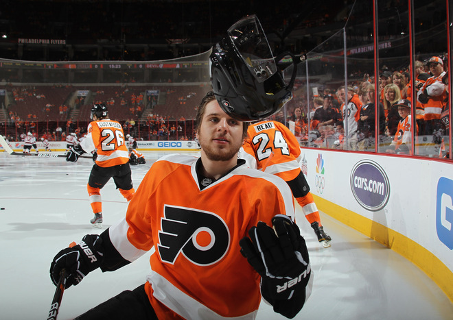 Brayden Schenn is a good candidate to elevate his game when the NHL returns. (Getty)