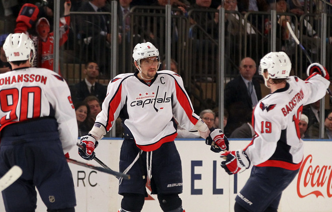 Alex Ovechkin scored the game-winner midway through the third period. (Getty Images)