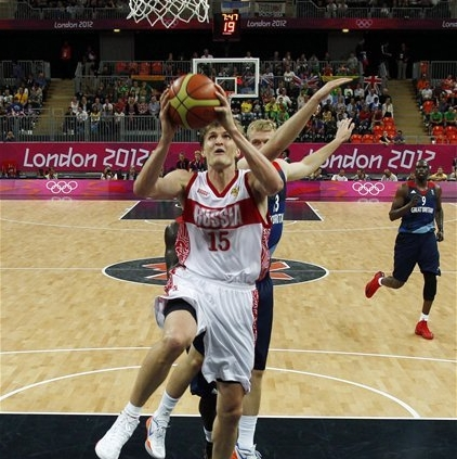 Kirilenko: 'I'm running like a young deer' The Associated Press