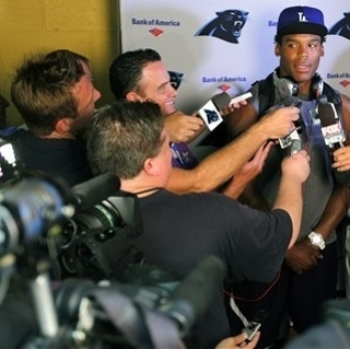 Newton has become Panthers' first 'mega-superstar' The Associated Press Getty Images Getty Images Getty Images