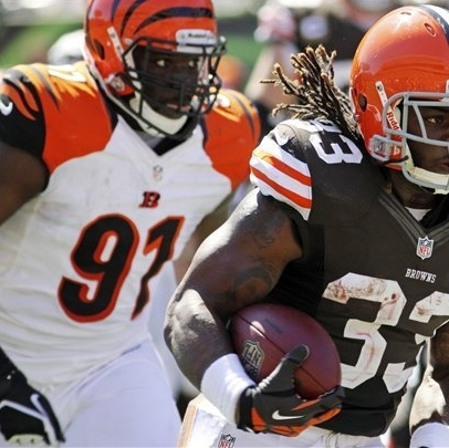 Dalton's 3 TDs lead Bengals over Browns 34-27 The Associated Press Getty Images Getty Images Getty Images Getty Images Getty Images Getty Images Getty Images