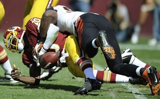 Redskins, battered RG3 to tone down ball trickery The Associated Press Getty Images Getty Images Getty Images Getty Images Getty Images Getty Images Getty Images Getty Images