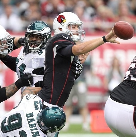 Cardinals sack Vick 5 times in 27-6 rout of Eagles The Associated Press Getty Images