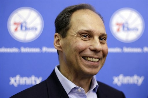 76ers GM DiLeo Basketball The Associated Press