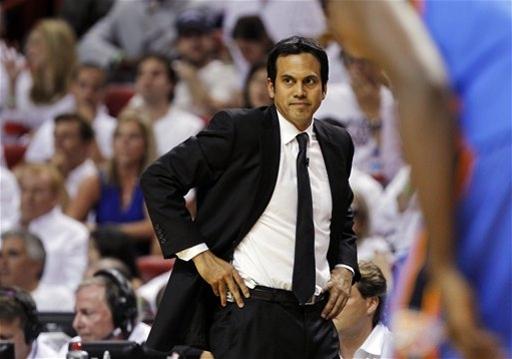 Heat Spoelstra Basketball The Associated Press