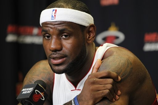 LeBron James won his first NBA championship last season. (Getty Images)