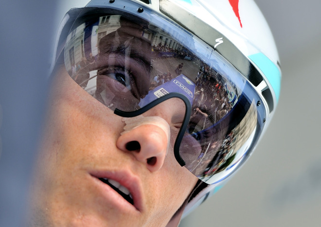 French Cyclist Sylvain Chavanel Is AFP/Getty Images