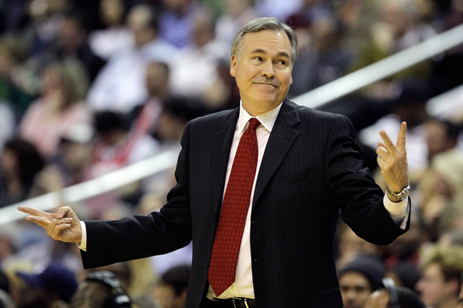 Mike D'Antoni signed a four-year contract to coach the Lakers. (Getty Images)
