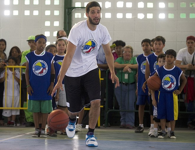 Venezuelan Basketball Player Greivis Vasquez Of The New Orleans Hornets From The NBA Is AFP/Getty Images