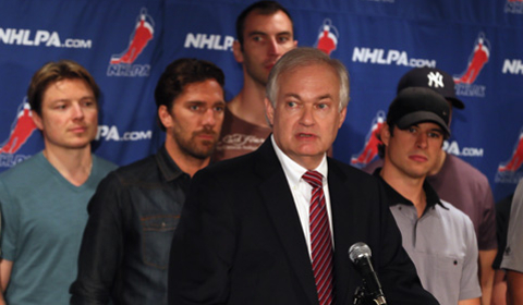 Fehr's strategy of including players in CBA talks with the league is something he learned from Miller. (Getty)