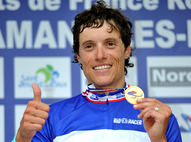 French Cyclist Sylvain Chavanel Gives AFP/Getty Images