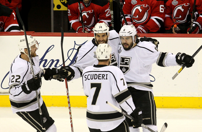 Drew Doughty's coast-to-coast goal in Game 2 was a thing of beauty. (Getty)