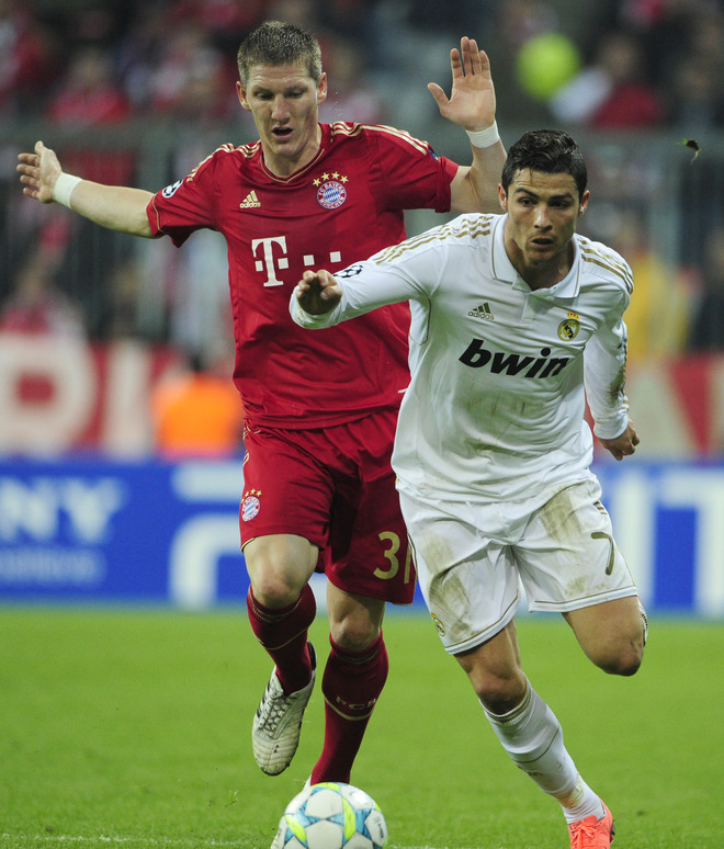 Cristiano Ronaldo wasn't able to lead Real Madrid past Bayern Munich in their first-leg match. (AFP)