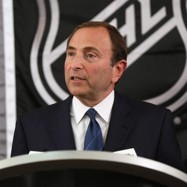 "NHL commish Gary Bettman said the last CBA was ""more fair"" to the players than it should have been. (Getty)"