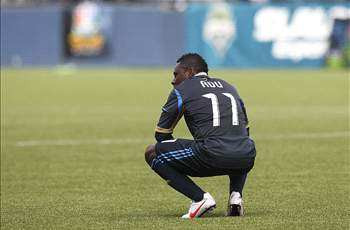 Earlier this season, Freddy Adu received a pair of yellow cards against New York, prompting a dismissal.