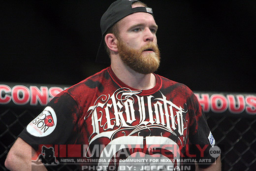 TJ Grant is moving backwards in the lightweight rankings. (MMAWeekly)