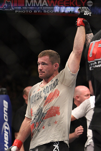 Matt Hughes will work as a liaison between fighters and the UFC. (MMA Weekly)